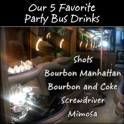 Best Party Bus Drinks