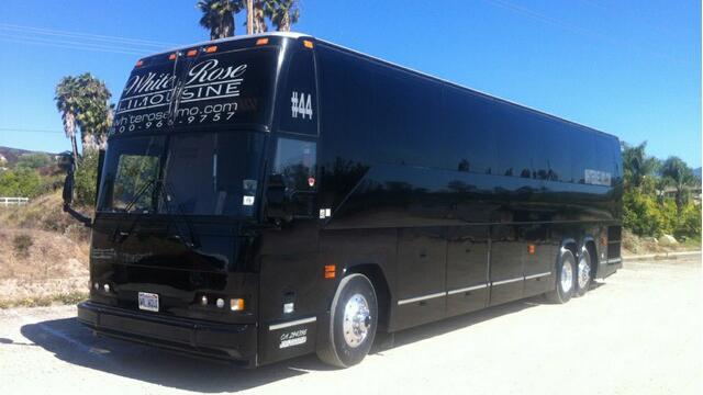 Large Party Bus Exterior