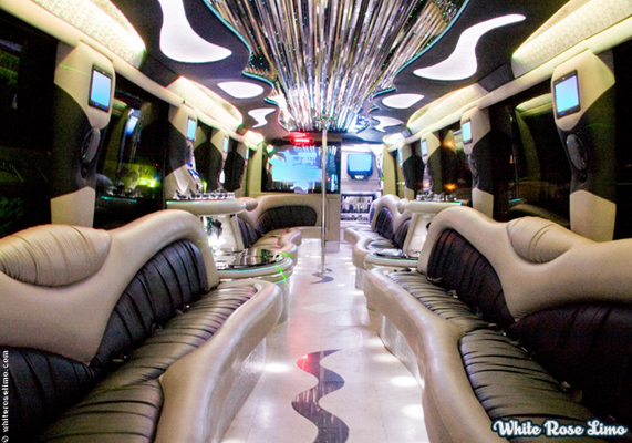 Large Party Limo Bus